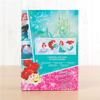Disney Princess Ariel Colourful Creations