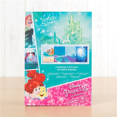 Disney Princess Ariel Backing Paper Pad
