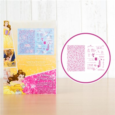 Disney Princess Belle 2 Stamp Sets