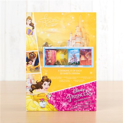 Disney Princess Belle Backing Paper Pad
