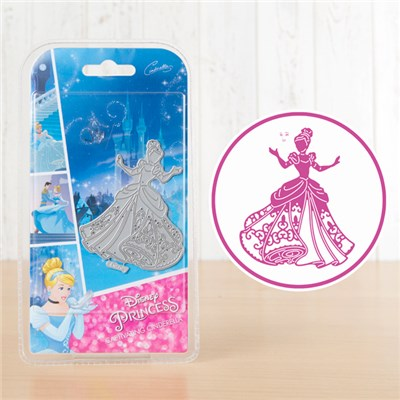 Disney Princess Captivating Cinderella Die and Face Stamp