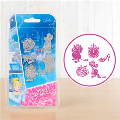 Disney Princess Cinderella Embellishments Die Set