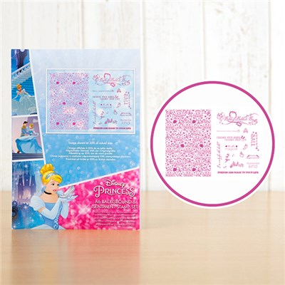 Disney Princess Cinderella 2 Stamp Sets