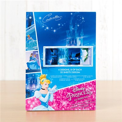 Disney Princess Cinderella Backing Paper Pad
