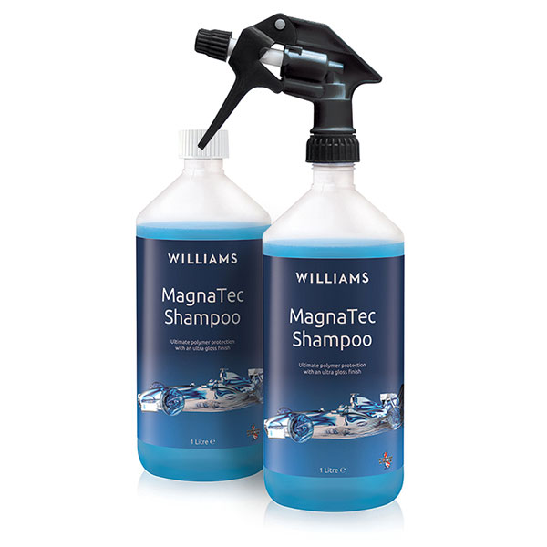 Williams Magnatec Car Shampoo 1L Twinpack No Colour