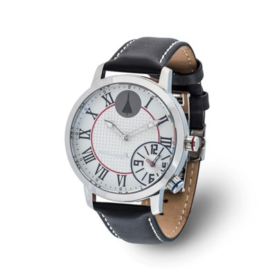 Concorde Limited Edition Dual Time Watch with Genuine Leather Strap