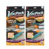 4 (Two Packs of Two) Jumbo VacPack Vacuum Storage Bags Bundle