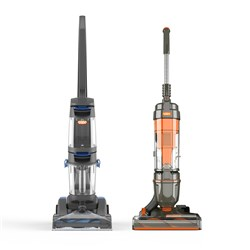 Vax Air Classic Upright Vacuum and Vax Dual Power Pet Carpet Cleaner