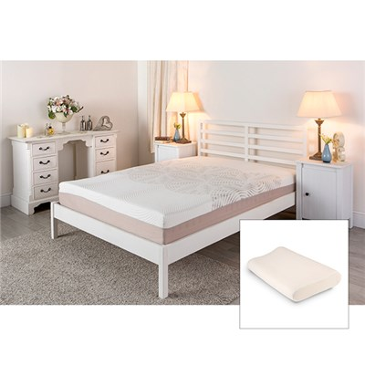 Sleep Genie ADAM Single Mattress and Free Contour Pillow