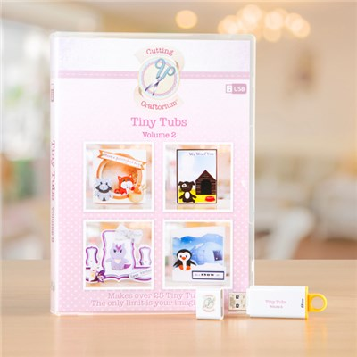 Cutting Craftorium Tiny Tubs USB