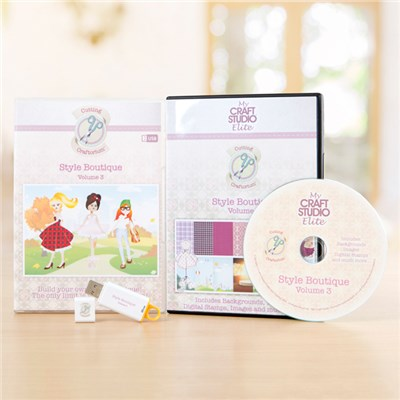 Cutting Craftorium Style Boutique USB & CD-ROM