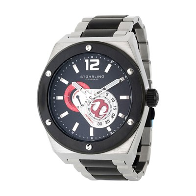 Stuhrling Gents Orignal Esprit Watch with Automatic Two Tone Stainless Steel Strap