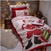 Retro Santa Quilt Set Single Size No Colour