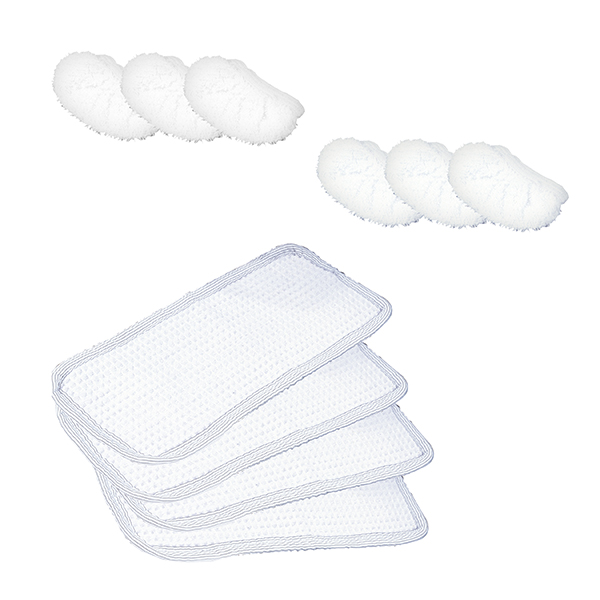 Polti Vaporetto Steam Cleaner Cleaning Pads No Colour