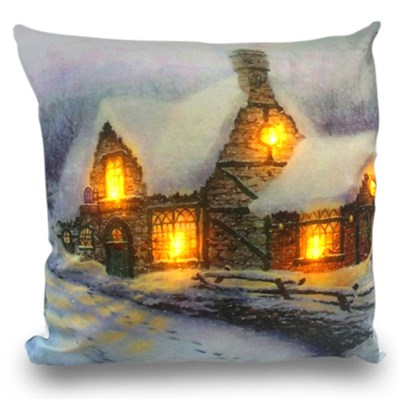 Stone House LED Cushion 45 x 45