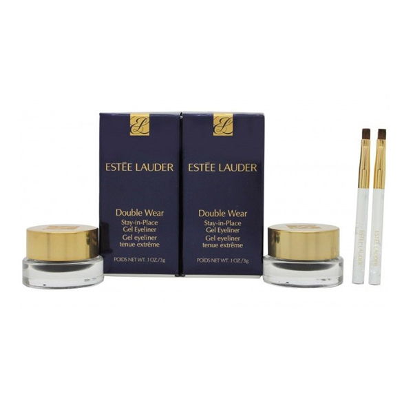 Estee Lauder Double Wear Stay in Place Gel Eyeliner Duo No Colour