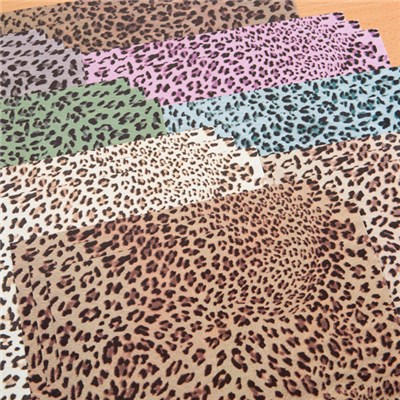 Create and Craft Animal Print Leopard Card - Pack of 24