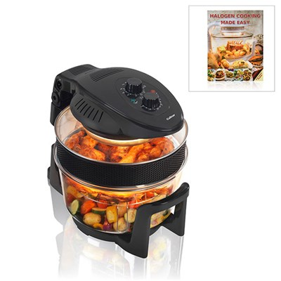 12L Halogen Oven with Book