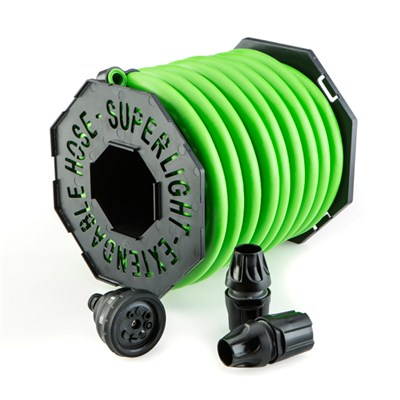 Magic Hose 25m with Nozzle and Fittings