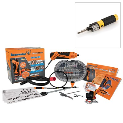 Twist-A-Saw Deluxe FREE 360 Screwdriver