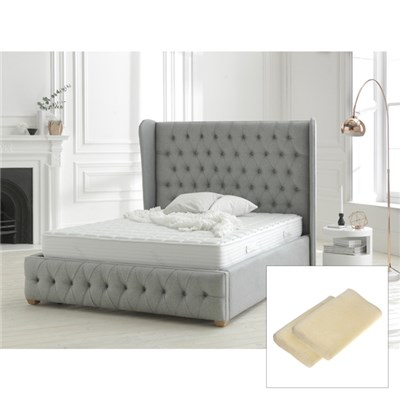 Dormeo Memory Fresh Double Deluxe Mattress with two free Memosan Pillows