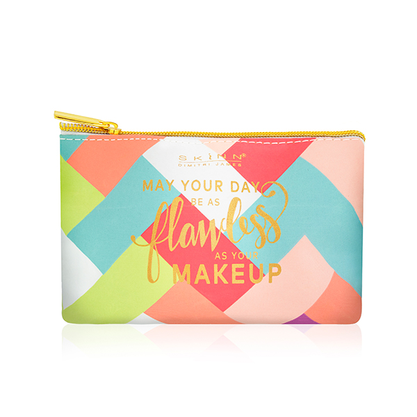 Skinn Multi Coloured Make Up Bag No Colour