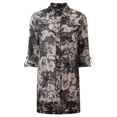 Lavitta Kensignton Fade Out Print Overshirt 30in