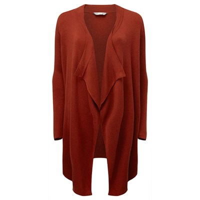 Lavitta Rib Waterfall Cardigan 29in