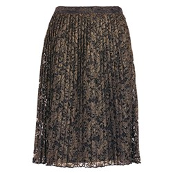 Bonmarche Foil Pleated Lace Skirt 31in