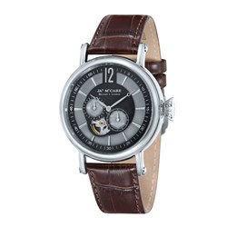 James McCabe Lurgan Gents Automatic Japanese Movements with Leather Strap