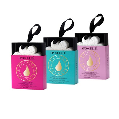 Spongelle Infused Body Wash Buffer Boxed Flower Trio