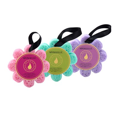 Spongelle Infused Body Wash Buffer Flower Trio