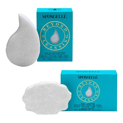 Spongelle Infused Body Contouring Buffer and Pedi Buffer