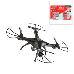 Sky Warrior Wifi Drone with HD Camera and 8 x AA Batteries