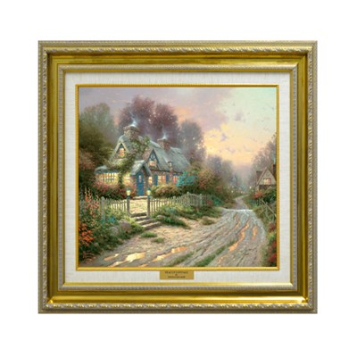 Teacup Cottage Open Edition Canvas Classic