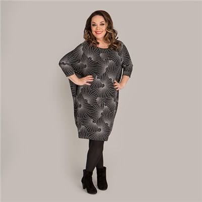 Just Be You Sparkle Batwing Tunic