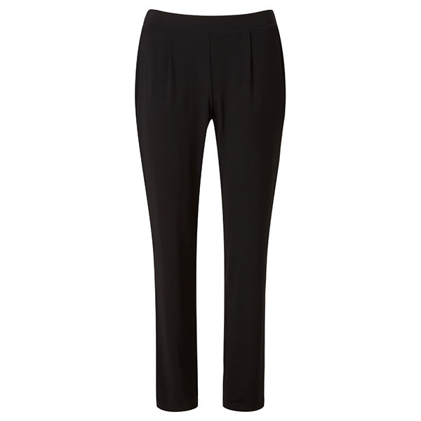 Lavitta Tapered Leg Jersey Trousers 27in Black