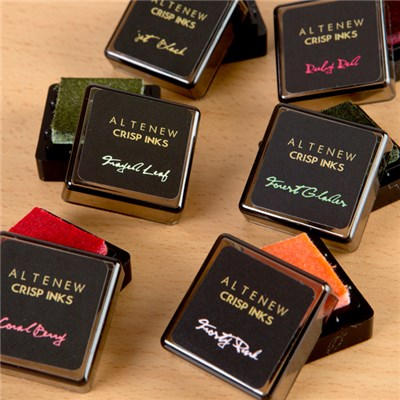 AlteNew Floral Mini Ink Cube Set