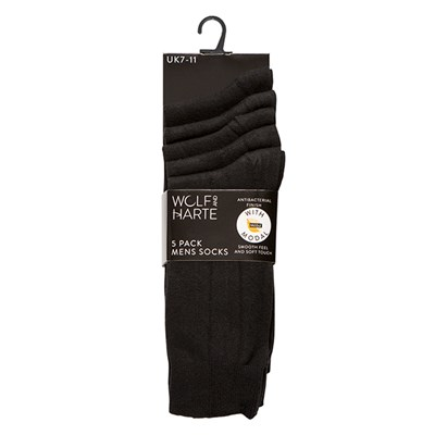 Pack Of 5 Mens Socks