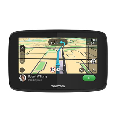 TomTom GO 520 SatNav with Lifetime Update World Maps & Wifi