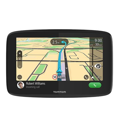 TomTom GO 620 SatNav with Lifetime Update World Maps & Wifi)