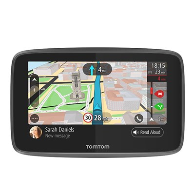 TomTom GO 5200 SatNav with Lifetime Update World Maps & Wifi