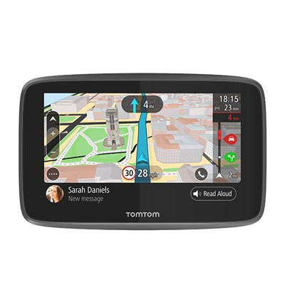 TomTom GO 6200 SatNav with Lifetime Update World Maps & Wifi