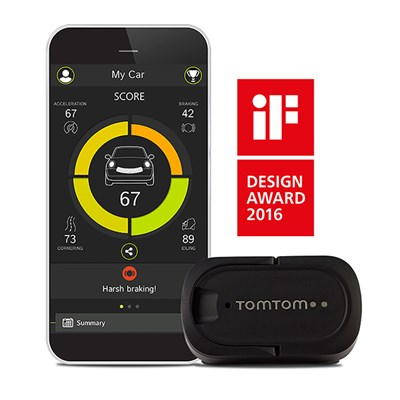 TomTom Curfer - Improve Your Driving