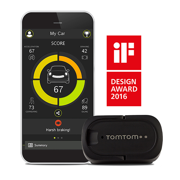 TomTom Curfer - Improve Your Driving No Colour