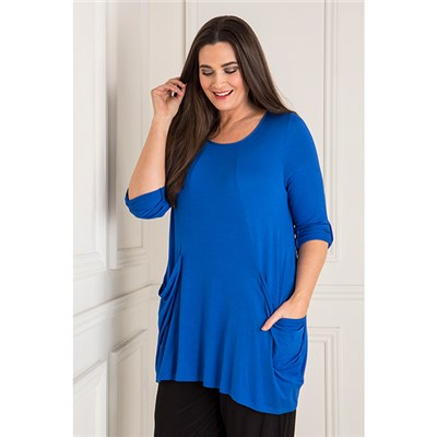 Emelia Drape Pocket Tunic
