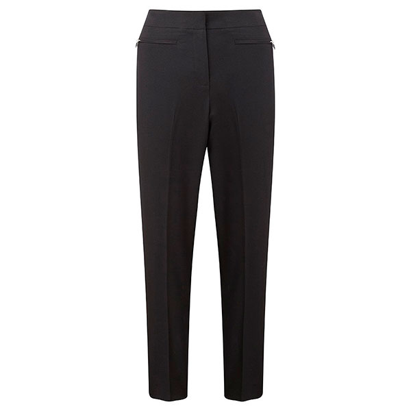 Lavitta Tapered Leg Trousers 27in Black