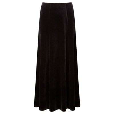 Lavitta Velour Maxi Skirt 35in