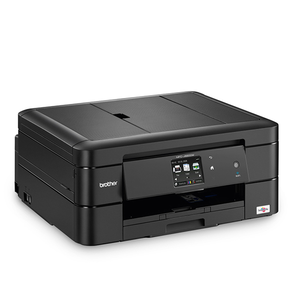 Brother Compact A4 allinone colour inkjet printer with fax MFCJ680DW 388931