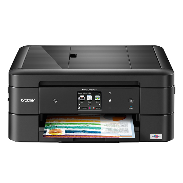 Compact A4 all-in-one colour inkjet printer with fax MFC-J880DW No Colour